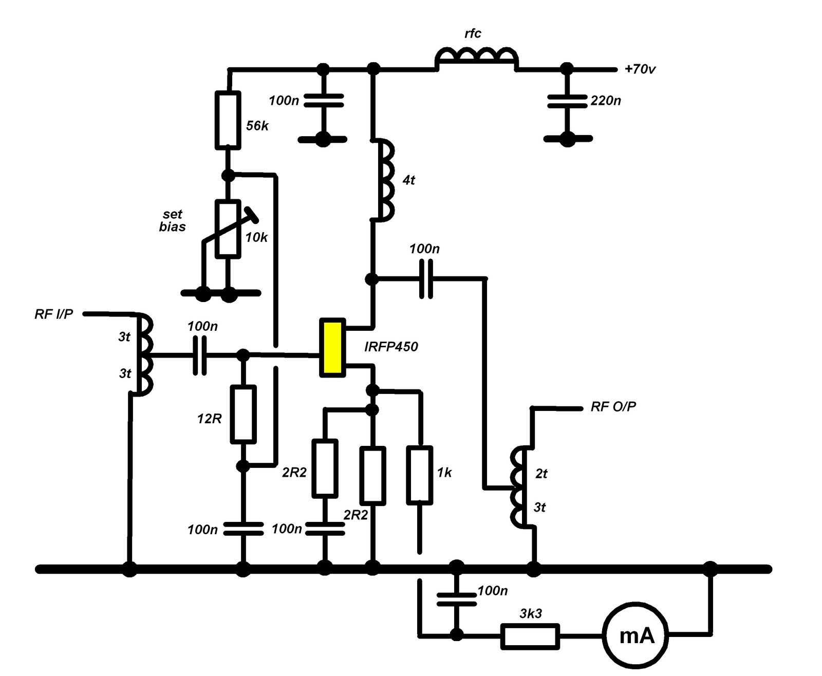 Page Radio Frequency Jfet Mixer Rf Circuit Amplifiercircuit Amplifier